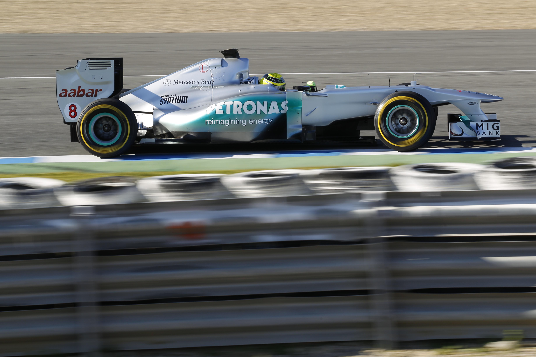 Motorsports: FIA Formula One World Championship 2012, Tests in Jerez